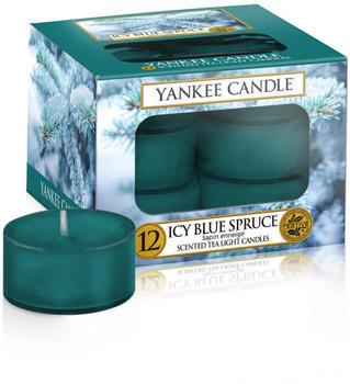 Yankee Candle Icy Blue Spruce Tea Lights 12x9,8g