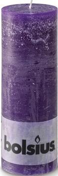 Bolsius Rustic 190/68mm lila