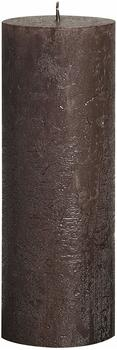 Bolsius Rustic 190/68mm metallic braun