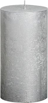 Bolsius Rustik 13x6,8cm silber