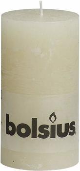 Bolsius Rustik 13x6,8cm elfenbein