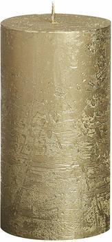 Bolsius Rustik 13x6,8cm gold