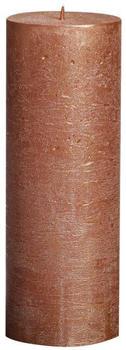 Bolsius Rustic 190/68mm metallic kupfer