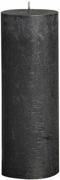 Bolsius Rustic 190/68mm metallic anthrazit