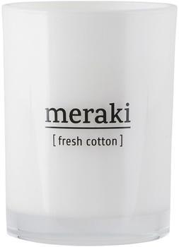 Meraki Duftkerze Ø8 x10 cm 35h Fresh Cotton