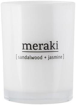 Meraki Duftkerze Ø8 x10 cm 35h Sandalwood-Jasmine