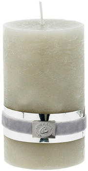 Lene Bjerre Rustic Candle Collection 12,5cm silver grey