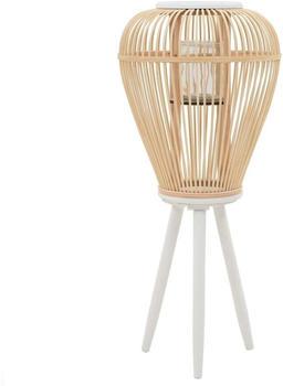 vidaXL Standing Lantern Bambou