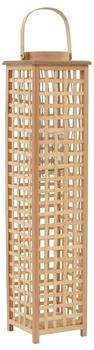 vidaXL Hanging Candle Holder Natural Bamboo 84 cm