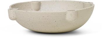 Ferm Living Bowl Candle Holder groß Ø27cm sand (1104263131)