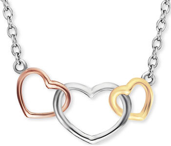 Engelsrufer Damen-Kette With Love 3 Hearts (ERN-WITHLOVE-03)