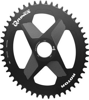 Rotor Q-Ring Chainring Oval 1x DM Alu black 42T