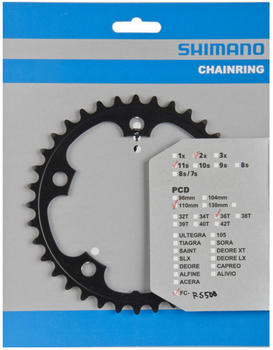 Shimano FC-RS500 Chainring 11-fach black 50T