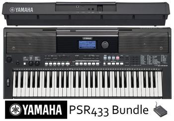 Yamaha PSR-E433 BK black inkl. Zubehör