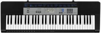 Casio Keyboard CTK-1550AD Schwarz, Grau inkl. Netzteil