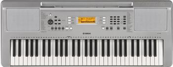 Yamaha Keyboard YPT-360 Silber inkl. Netzteil