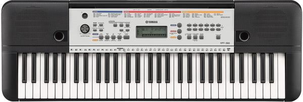 Yamaha YPT-260 Keyboard Schwarz inkl. Netzteil