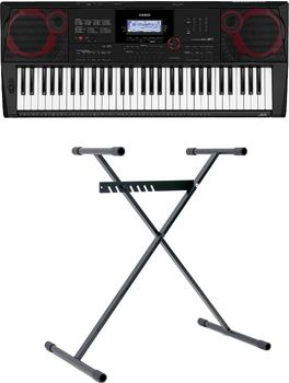 Casio Keyboard CT-X3000, (Set), inklusive Keyboardstativ