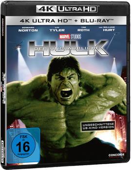 Concorde Film Der unglaubliche Hulk (4K Ultra HD) Blu-ray)