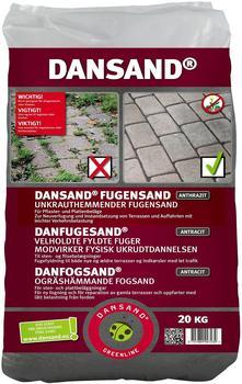 Dansand Fugensand NO GROW 1-5mm 20kg anthrazit