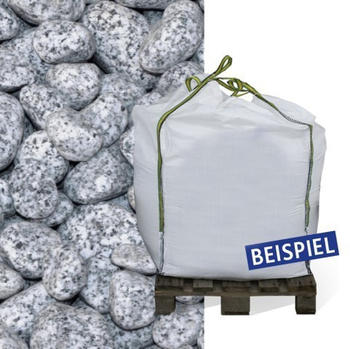 Hamann Granit-Gletscherkies grau 25-40 mm 600 kg