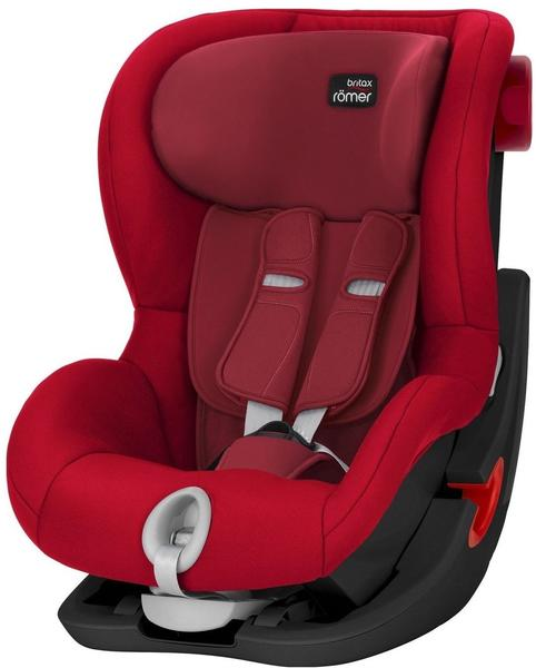 Britax Römer King II Black Series Flame Red