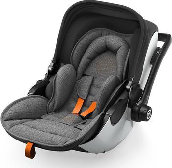 Kiddy Evo-Luna i-size 2 - Grey Melange Edition - Safe Orange