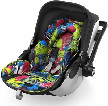 kiddy Babyschale Evoluna i-Size 2 inkl. Isofix Base 2, 2018, Farbe:Street Jungle
