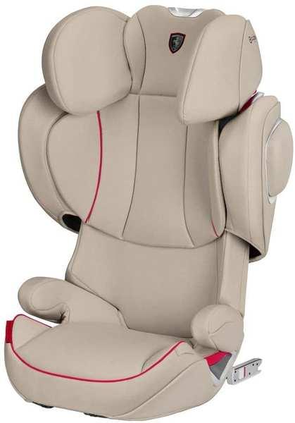 Cybex Solution Z-Fix Scuderia Ferrari - Silver Grey