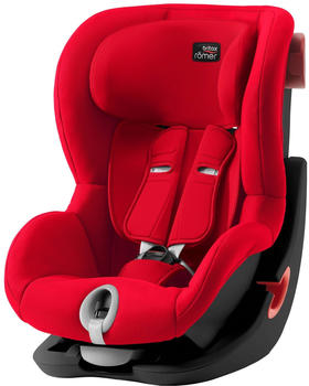 Britax Römer King II Black Series Fire Red