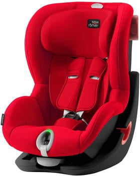 Britax Römer KING II LS Black Series Fire Red
