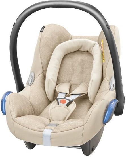 Bébé Confort CabrioFix Kindersitz Auto für Kinder von 0bis 12Monate, Nomad Sand