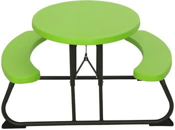 Lifetime Picknick-Tisch Oval (60132) grün