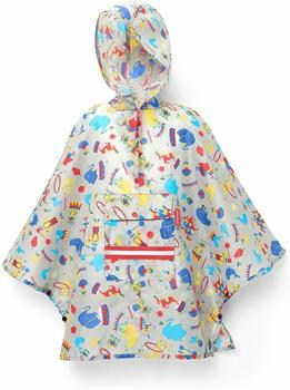 Reisenthel Mini Maxi Poncho M Kids circus red