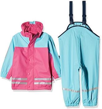 Playshoes Regen-Anzug mit Fleece-Futter (408680) türkis