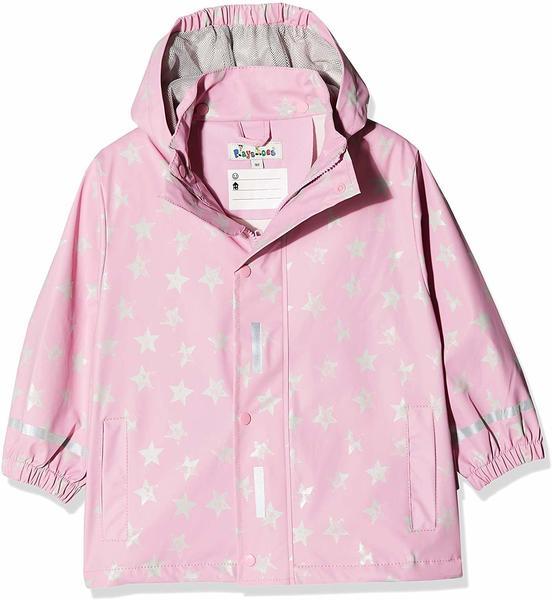 Playshoes Regen-Mantel die Maus & Elefant (408505) pink