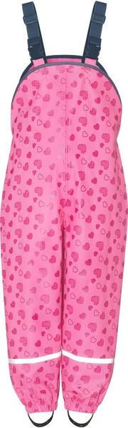 Playshoes Regenlatzhose mit Herzchen (405429) pink