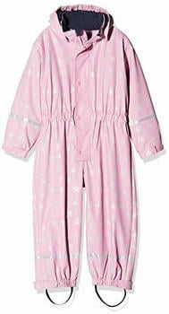 Playshoes Overall Sterne mit Fleecefutter (405402) light pink