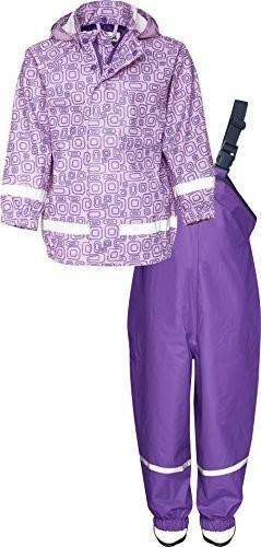 Playshoes Regenanzug Ornament (408694) purple