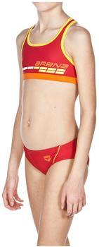 Arena Mädchen Bikini Suomi gelb/rot (2A430-43)