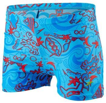 Speedo Jungen Seasquad Allover Aquashort Jungen Seasquad Allover Neon blue (809218B-419)