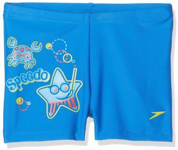 Speedo Jungen Seasquad Placement Aquashort Neon blue (809219B-419)
