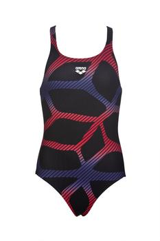 Arena Girl´s Spider One Piece black/red