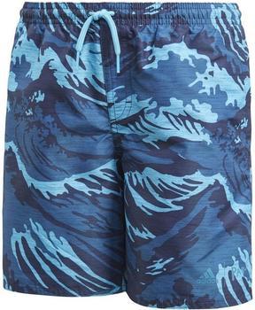 Adidas Parley Shorts Kids noble indigo/bright cyan