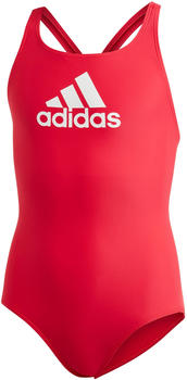 Adidas Badge of Sport Swimsuit (DQ3375) red