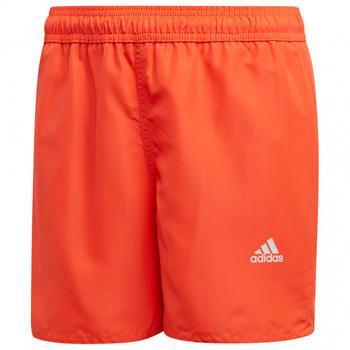 Adidas Kid's YB Badge of Sports Swim Shorts red/orange