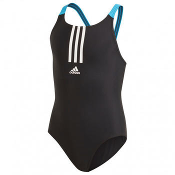 Adidas Girl's Fit Swimsuit black/white