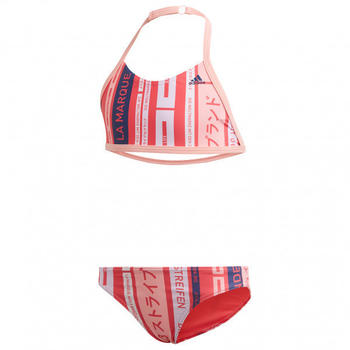 Adidas Kid's YA Bikini Graphic glory pink/tech indigo