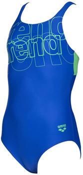 Arena Spotlight Swimsuit (003163) neon green/blue