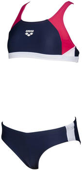 Arena Ren Two Pieces (000994) navy/freak rose/white